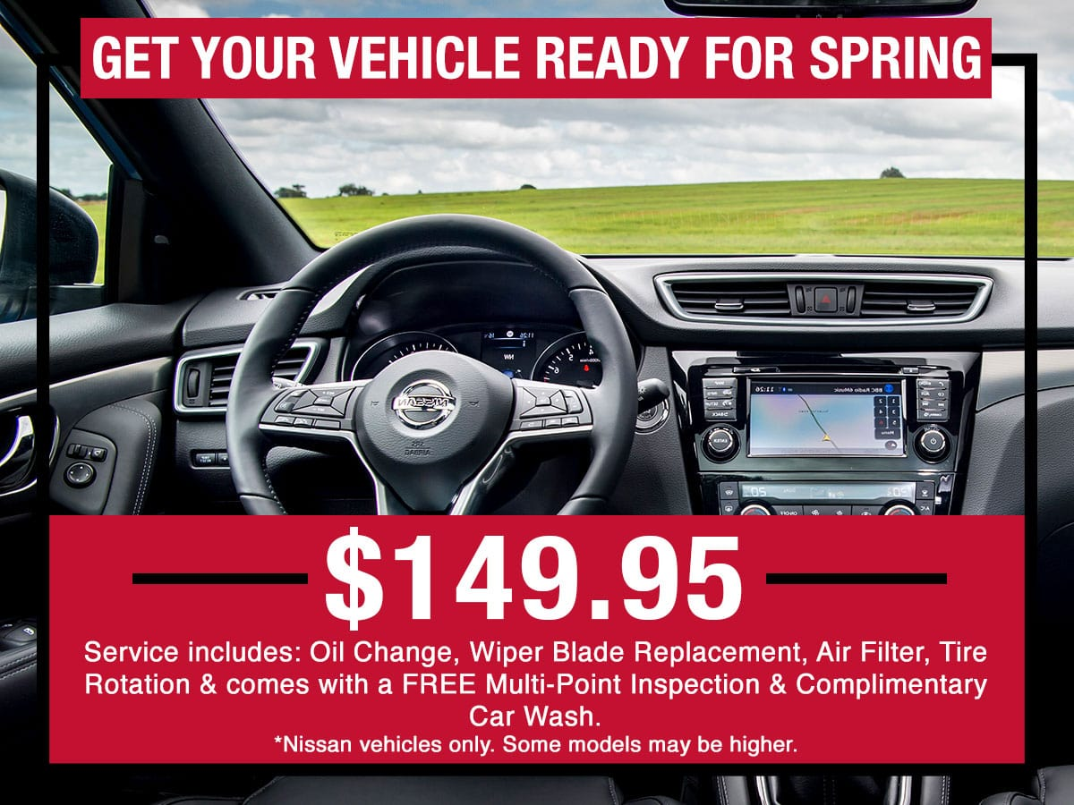 Get Your Vehicle Ready for Spring Special