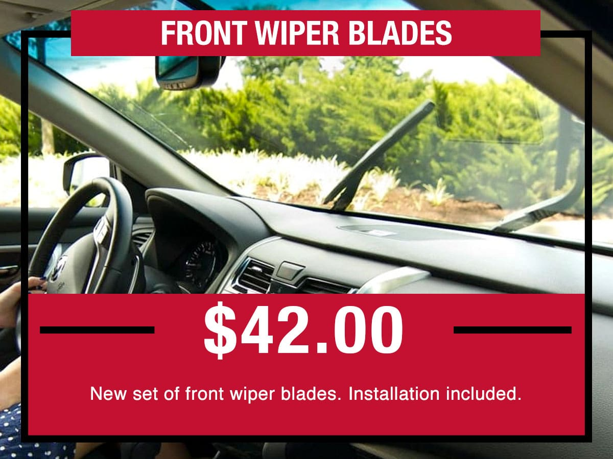 Nissan Front Wiper Blade Service Special Coupon
