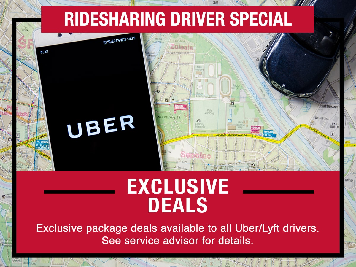 Nissan Ridesharing Driver Special Coupon
