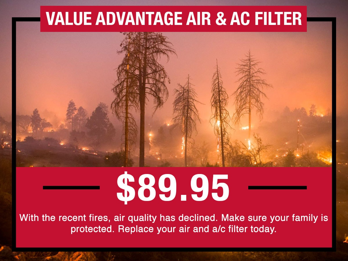 Nissan Value Advantage Air & AC Filter Service Special Coupon