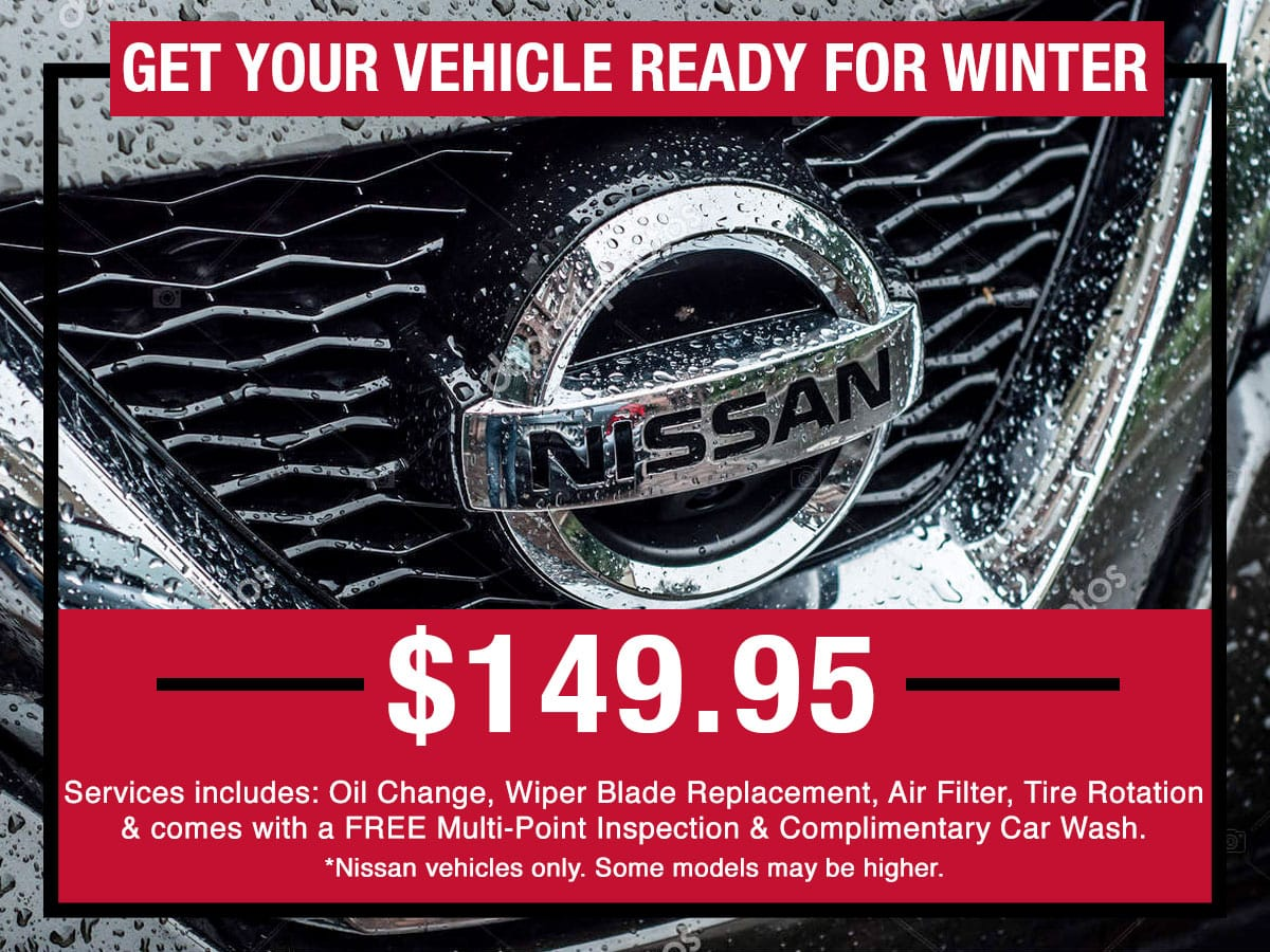Get Your Vehicle Ready for Winter Special