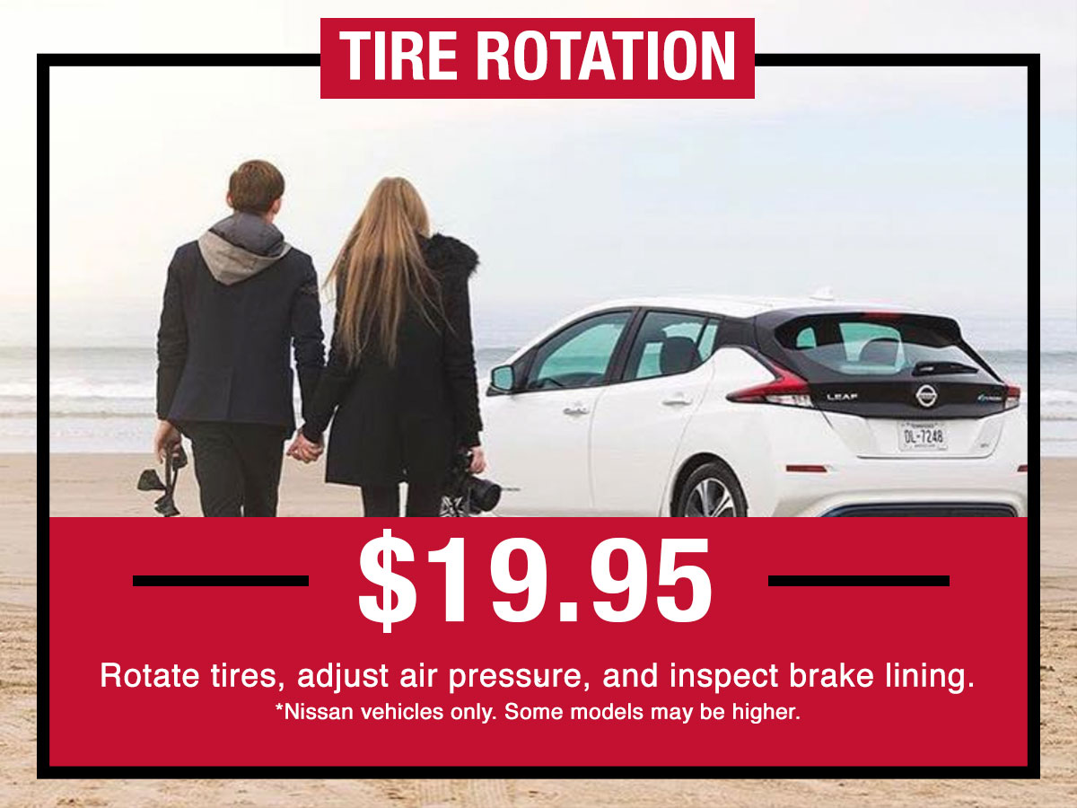 Nissan Tire Rotation Special Coupon
