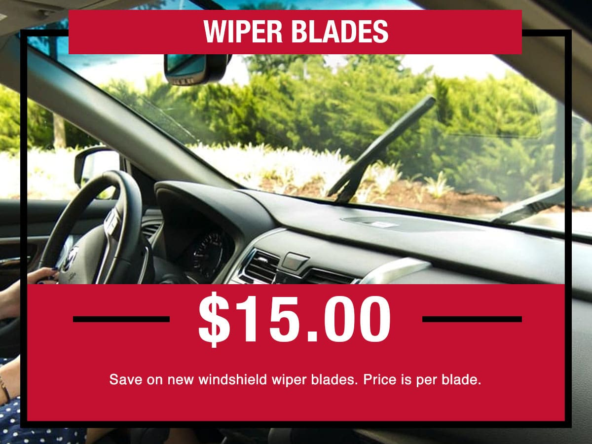 Nissan Wiper Blades Special Coupon