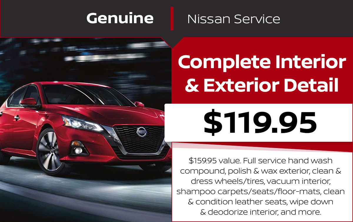 Complete Interior & Exterior Detail Service Special Coupon