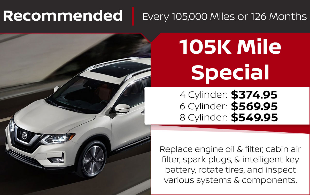 105K Mile Service Special Coupon