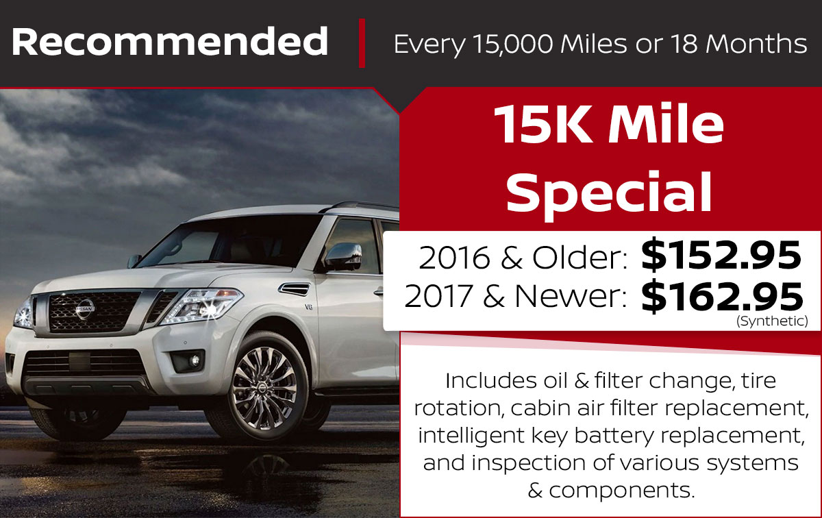 15K Mile Service Special Coupon