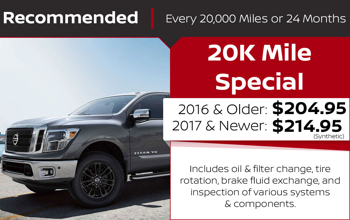 20K Mile Service Special Coupon