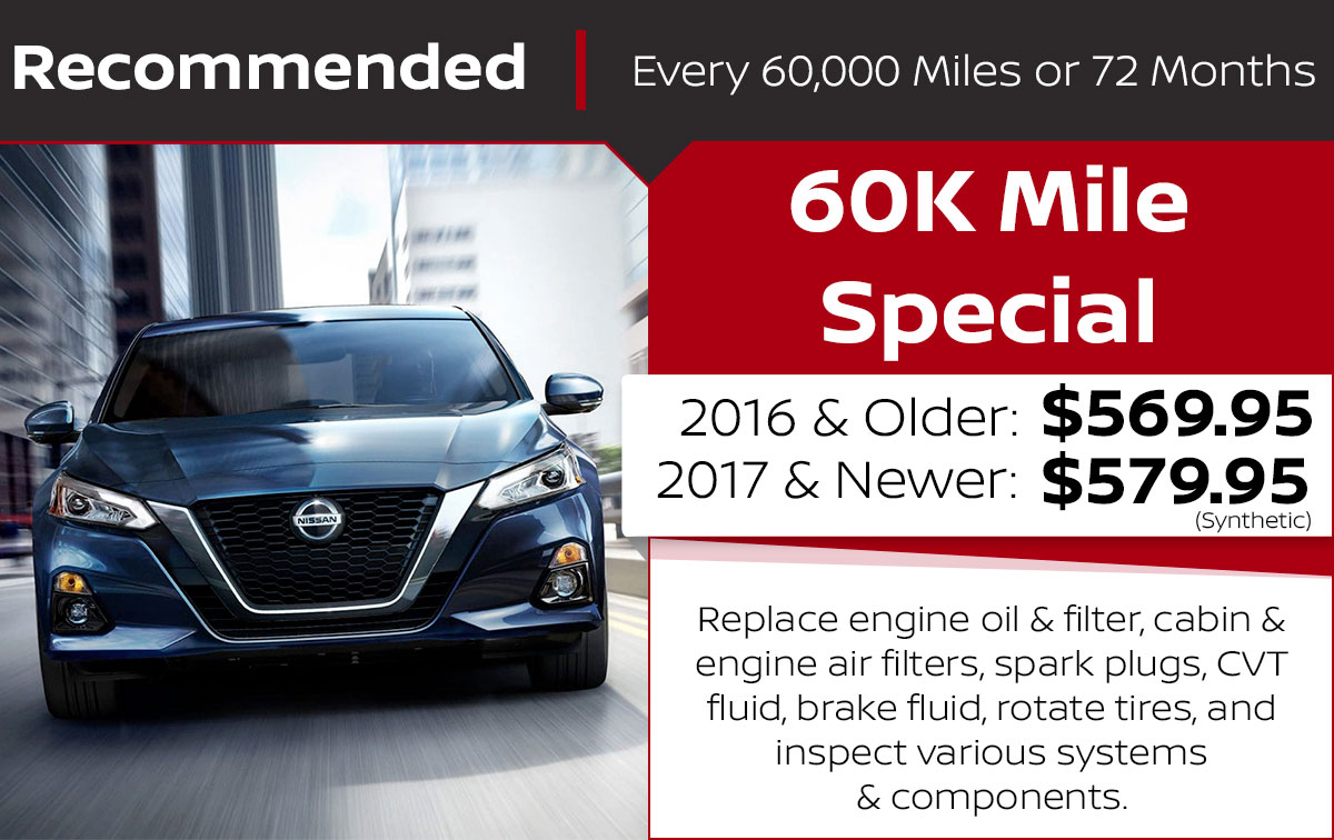 60K Mile Service Special Coupon