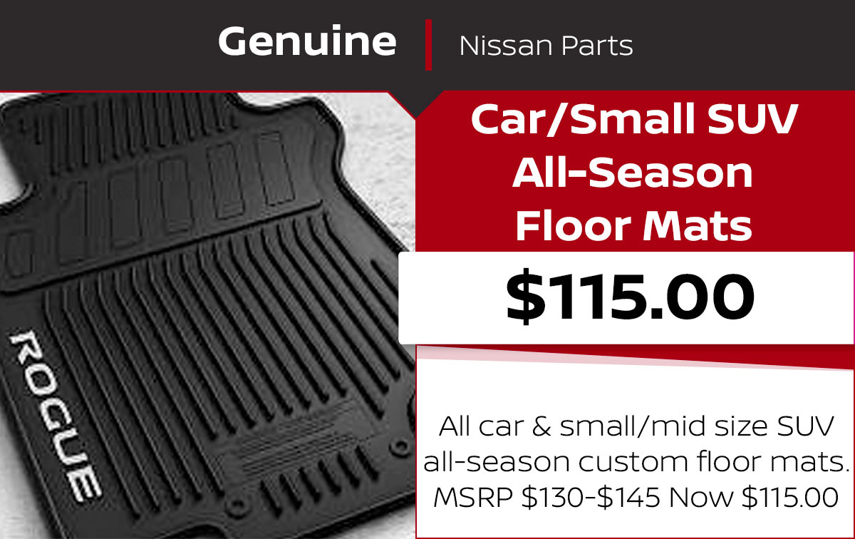 All-Season Floor Mats Special Coupon