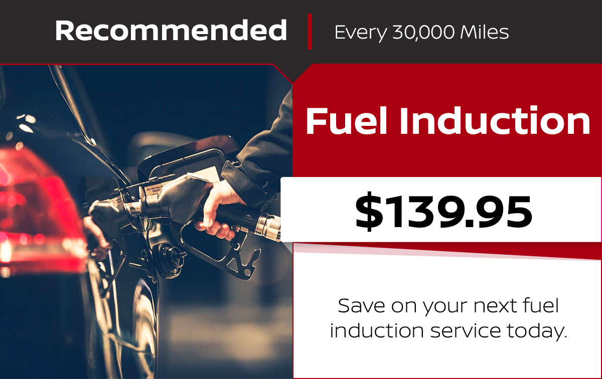 Nissan Fuel Induction Service Special Coupon