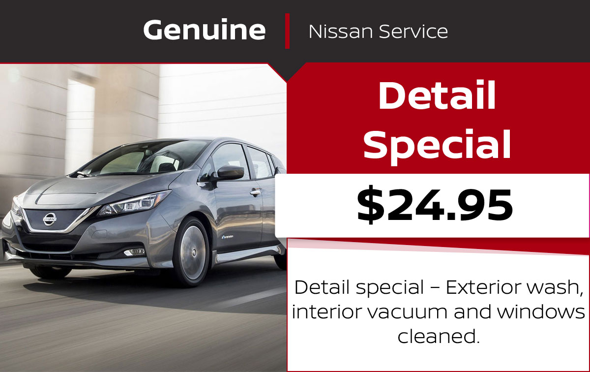 Nissan Detail Special Service Special Coupon
