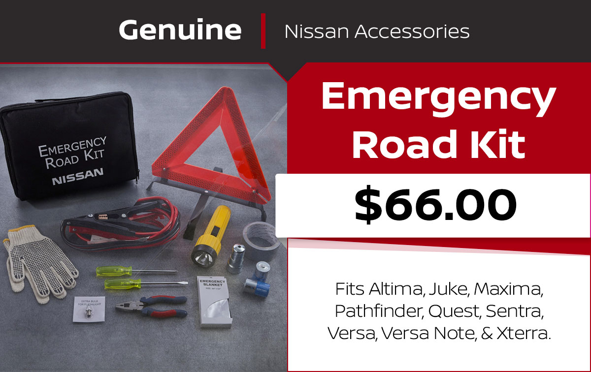 Nissan Emergency Road Kit Special Coupon