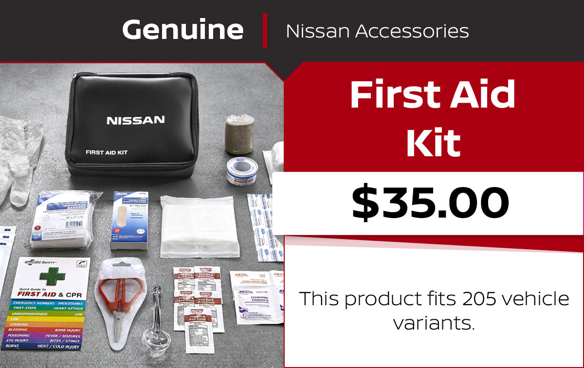 Nissan First Aid Kit Special Coupon