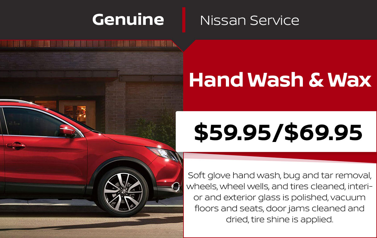 Hand Wash & Wax Service Special Coupon