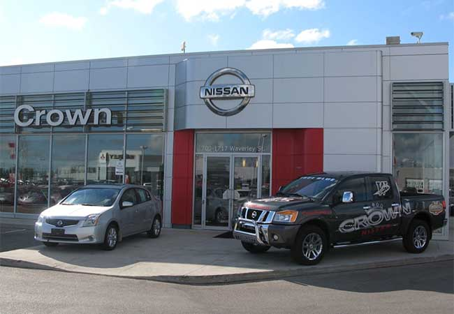 Crown Nissan Dealership