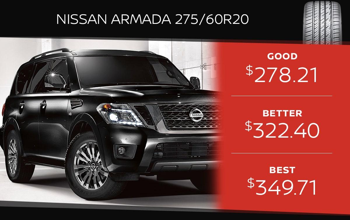 Nissan Armada Tire Special