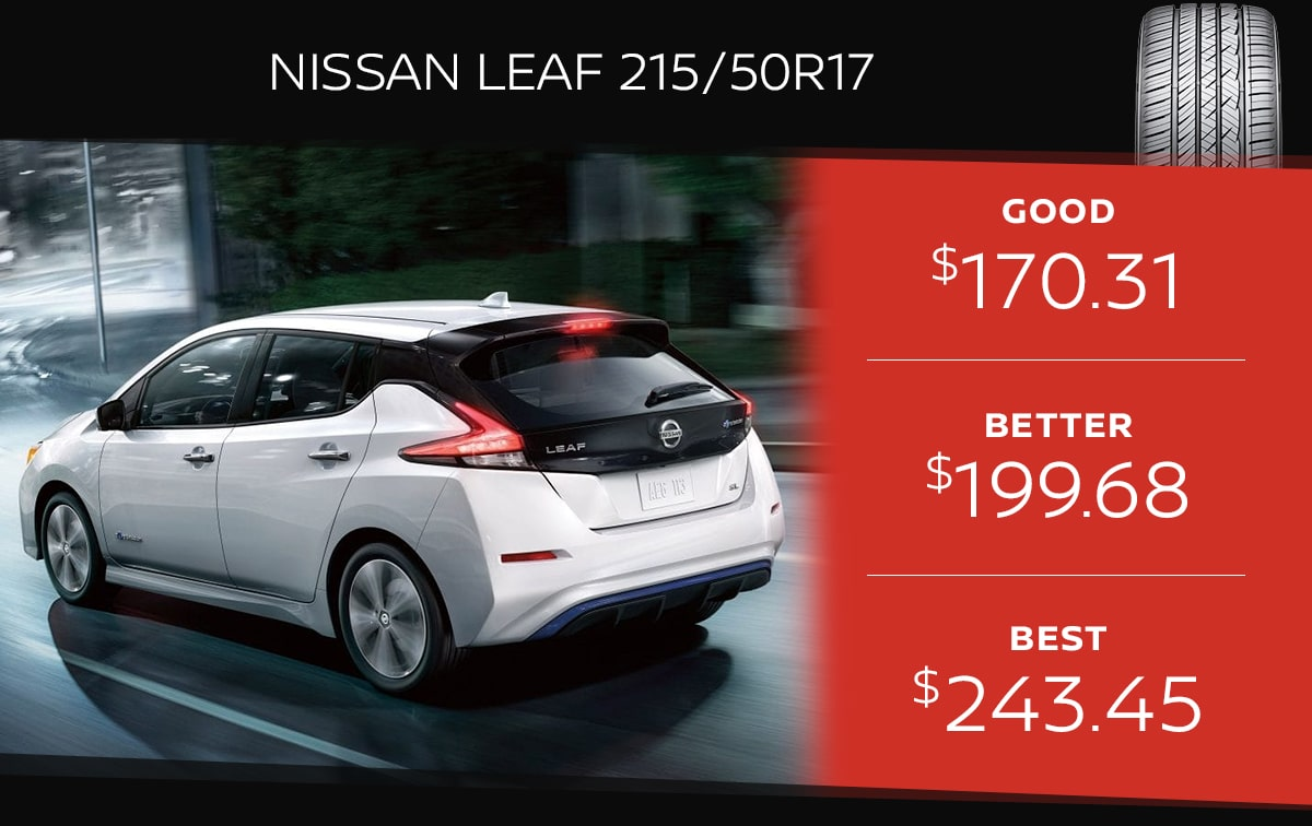 Nissan Leaf Tire Special