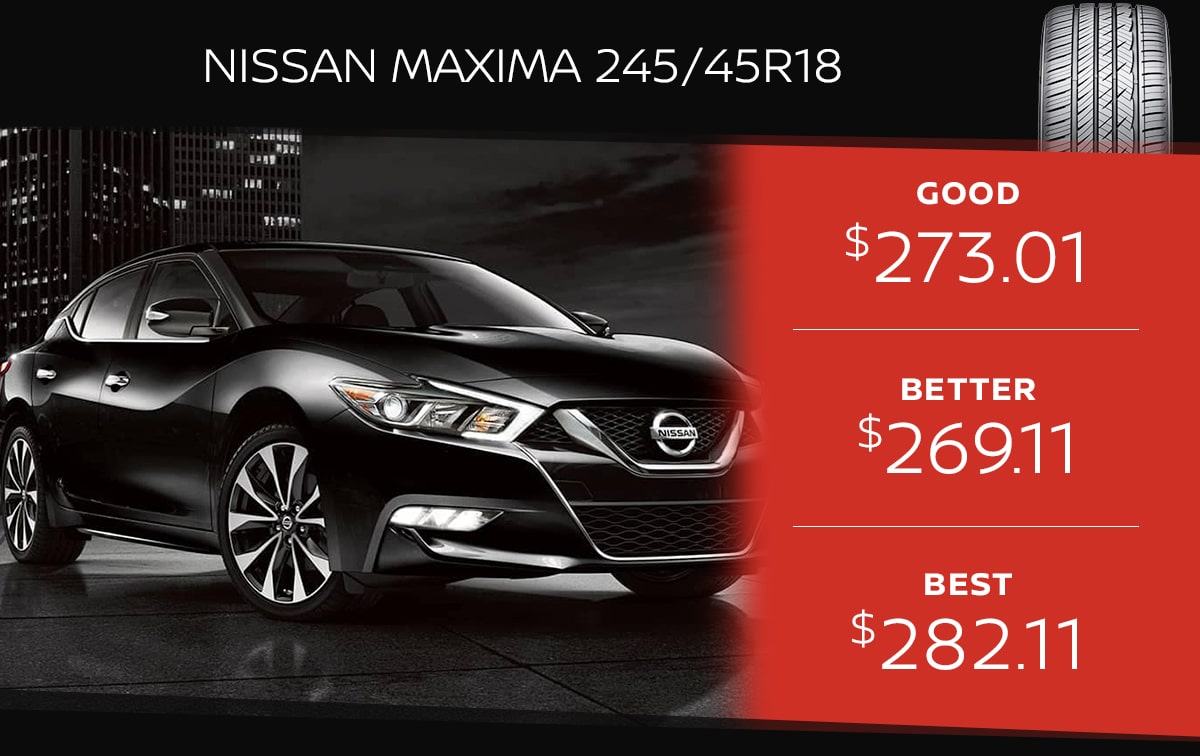 Nissan Maxima Tire Special