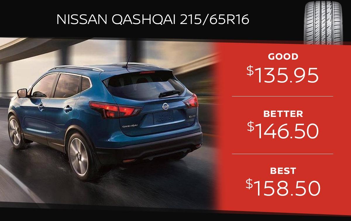 Nissan Qashqai Tire Special