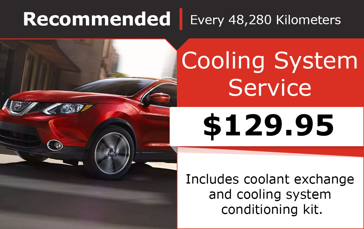 Nissan Cooling System Service Special Coupon