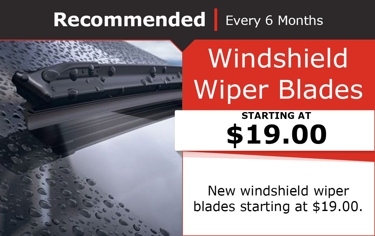 Nissan Wiper Blade Special Coupon