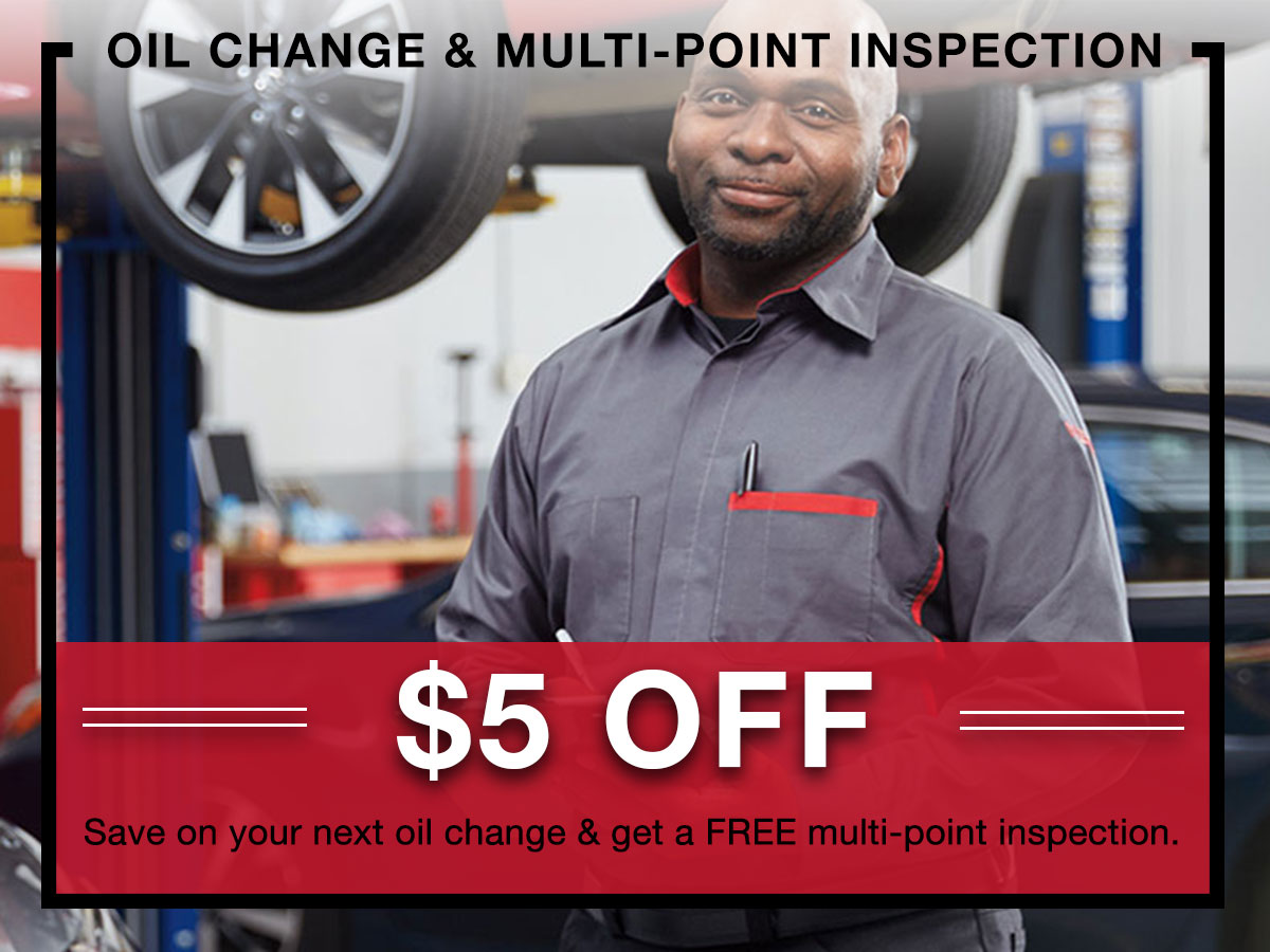 Oil Change & Multi-Point Inspection Special