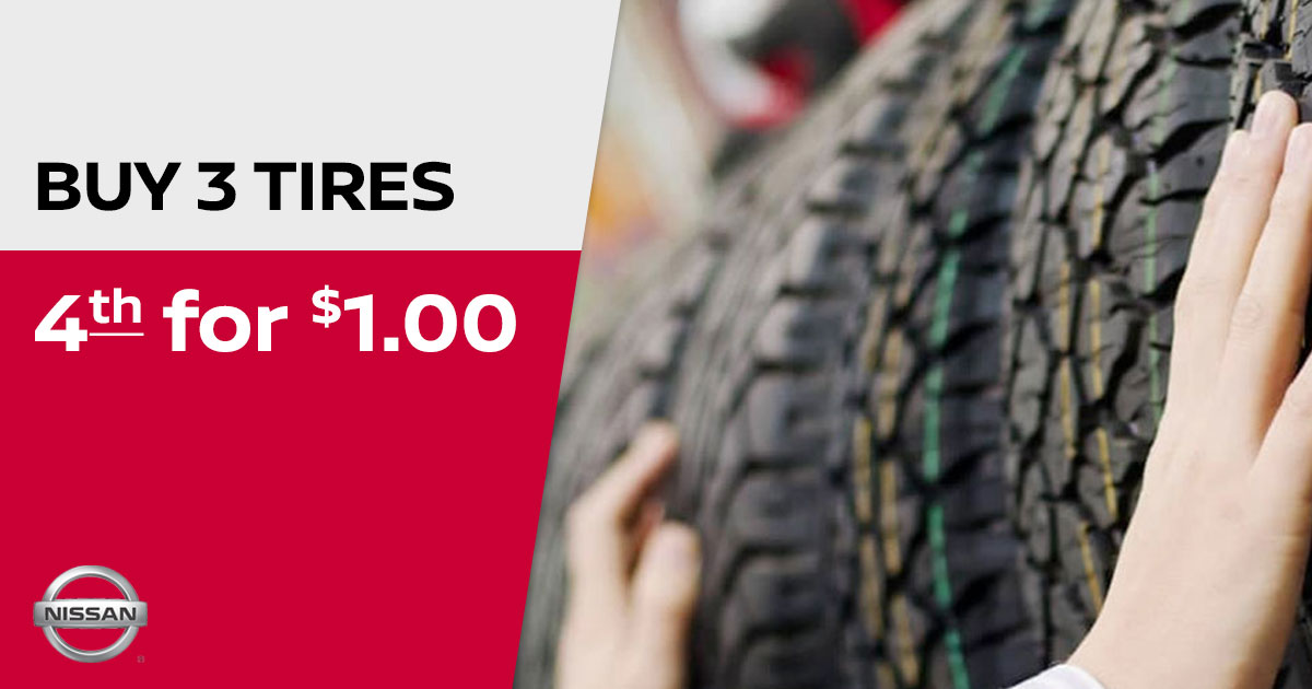 Nissan Tire Special Coupon