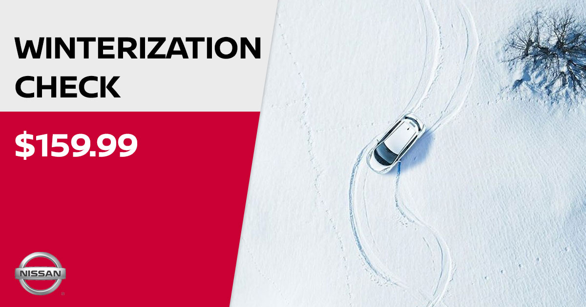 Nissan Winterization Check Service Special Coupon