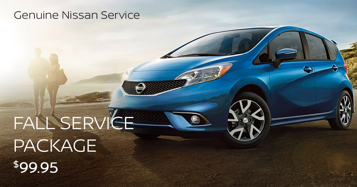 Nissan Fall Service Special Coupon
