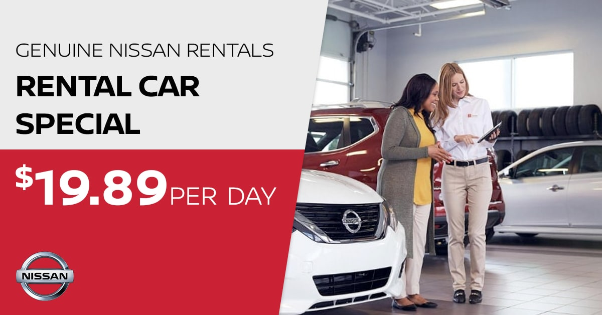 Nissan Rental Car Special Service Special Coupon