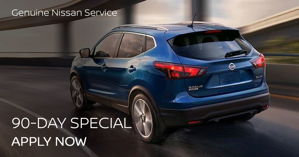 Nissan 90 Day Special Coupon