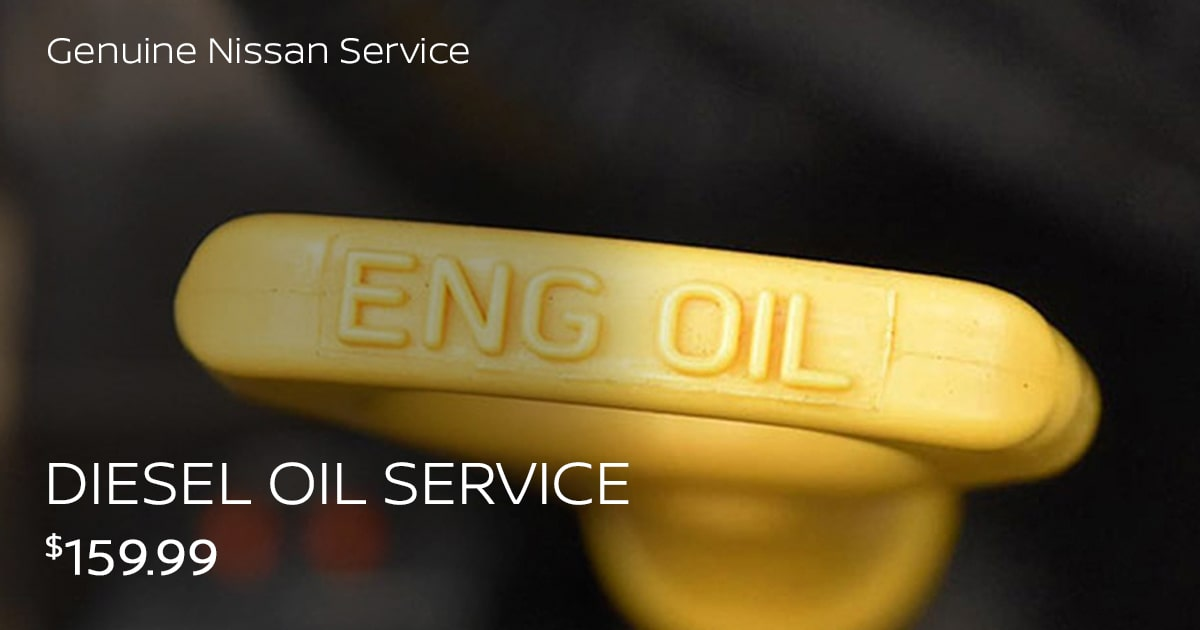 Nissan Diesel Oil Service Service Special Coupon