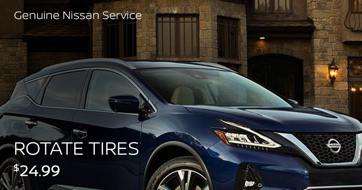 Nissan Rotate Tires Service Special Coupon