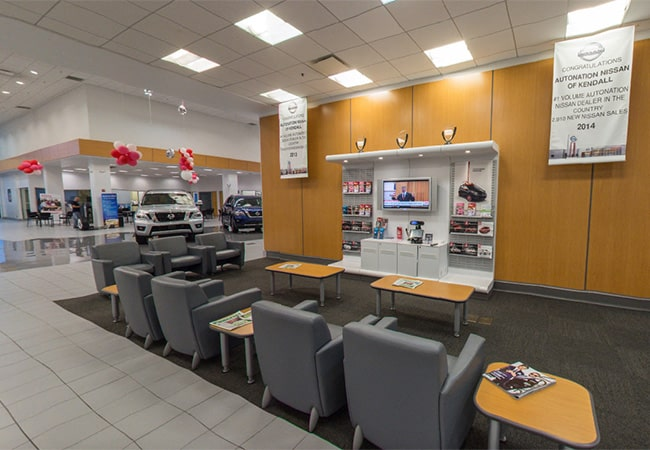 HGreg Nissan Kendall Waiting Area