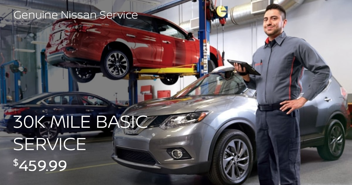 Nissan 30K Mile Basic Service Special Coupon