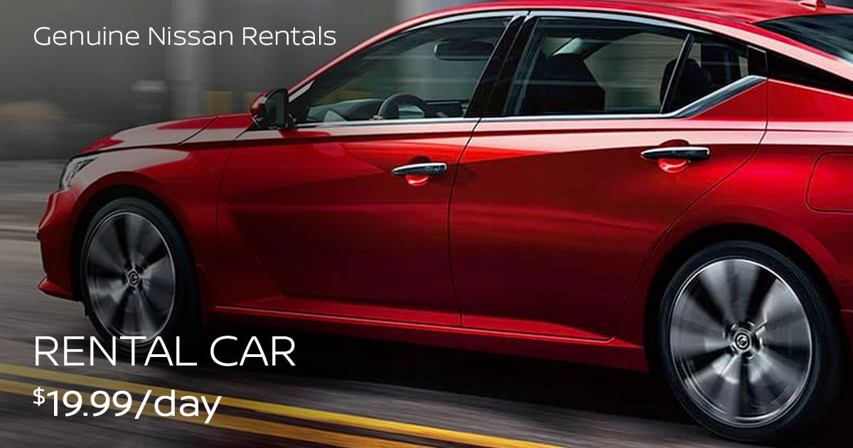 Nissan Rental Car Service Special Coupon