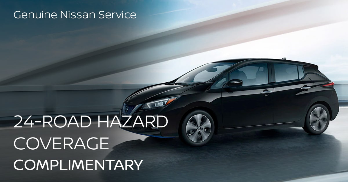 Nissan Road Hazard Coverage Service Special Coupon