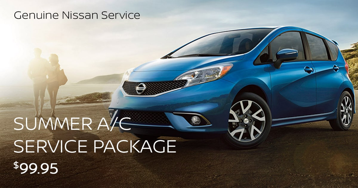 Nissan Summer A/C Service Special Coupon