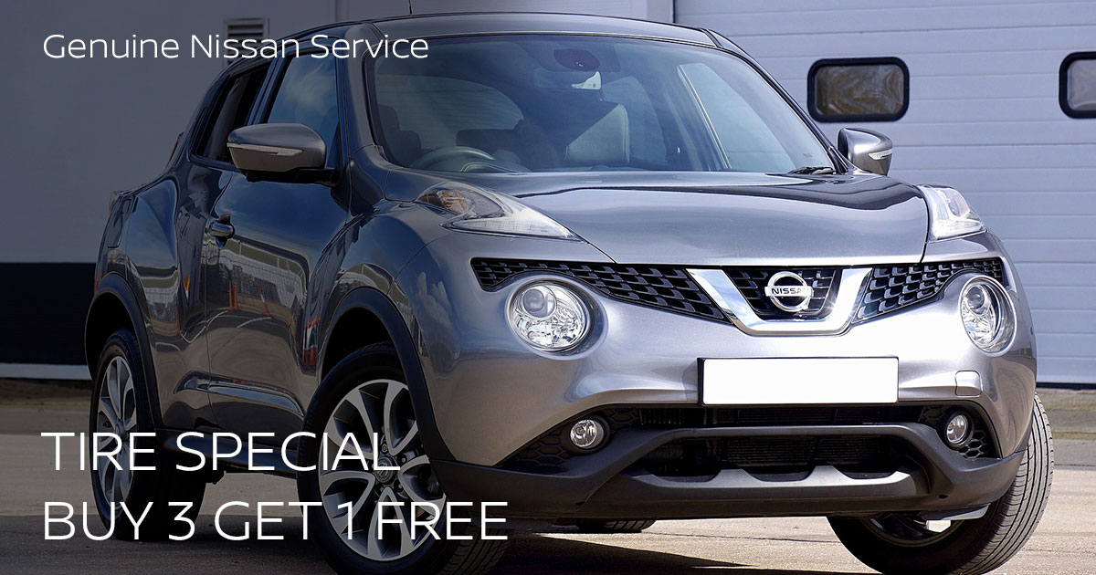 Nissan Tire Purchase Service Special Coupon