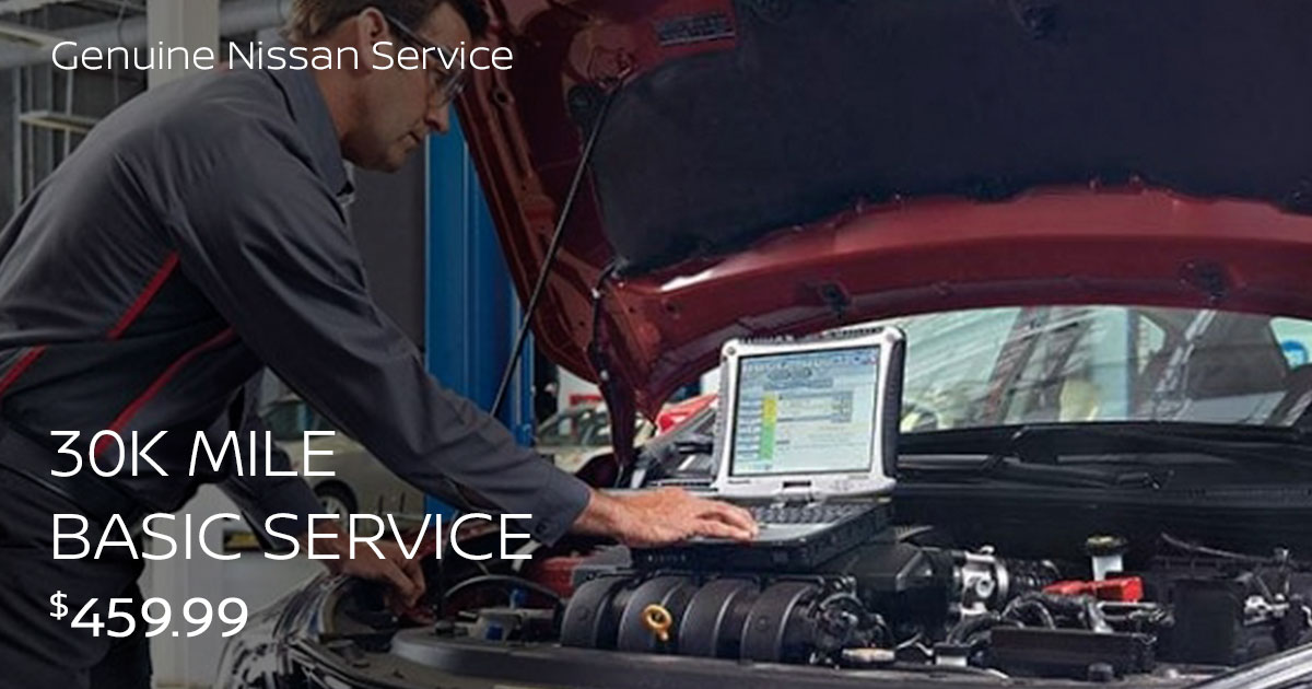 Nissan 30K Mile Complete Service Special Coupon