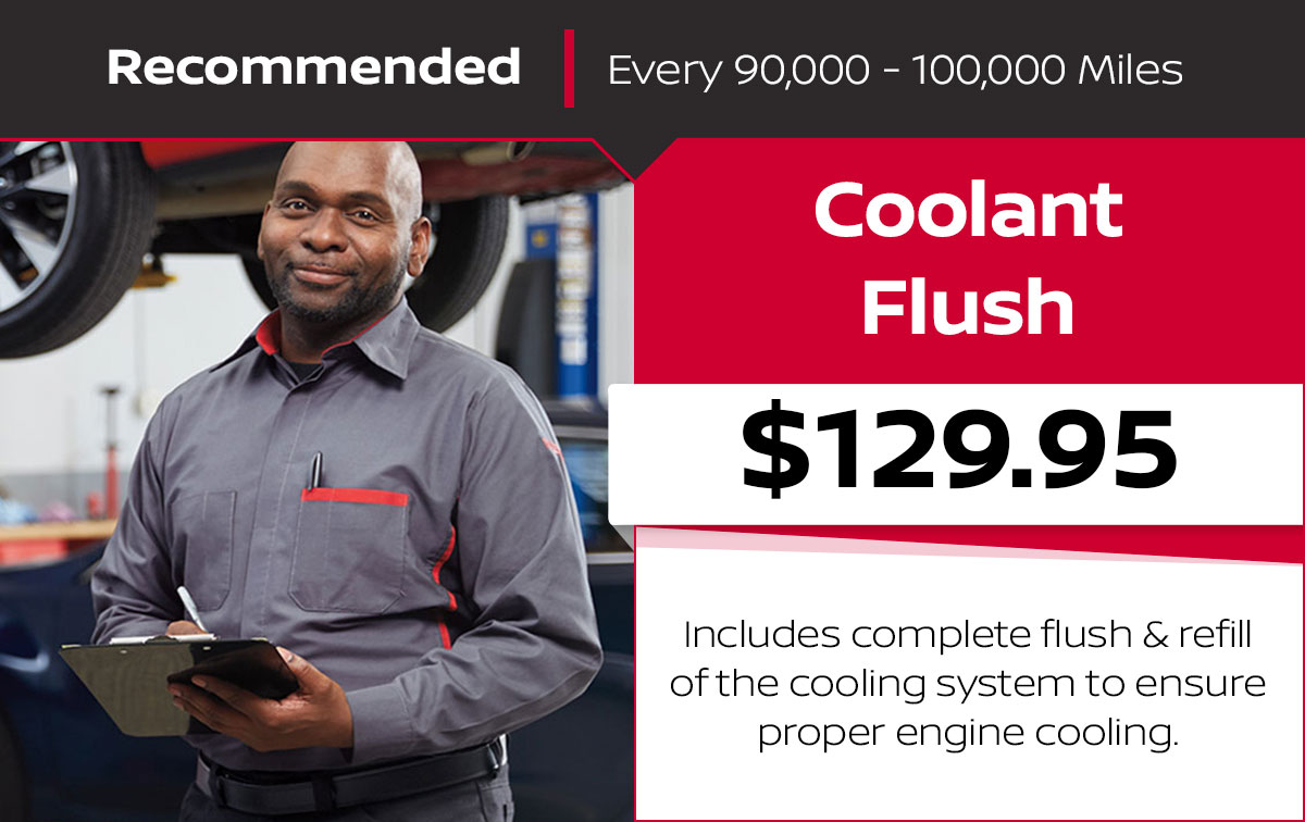Nissan Coolant Service Special Coupon