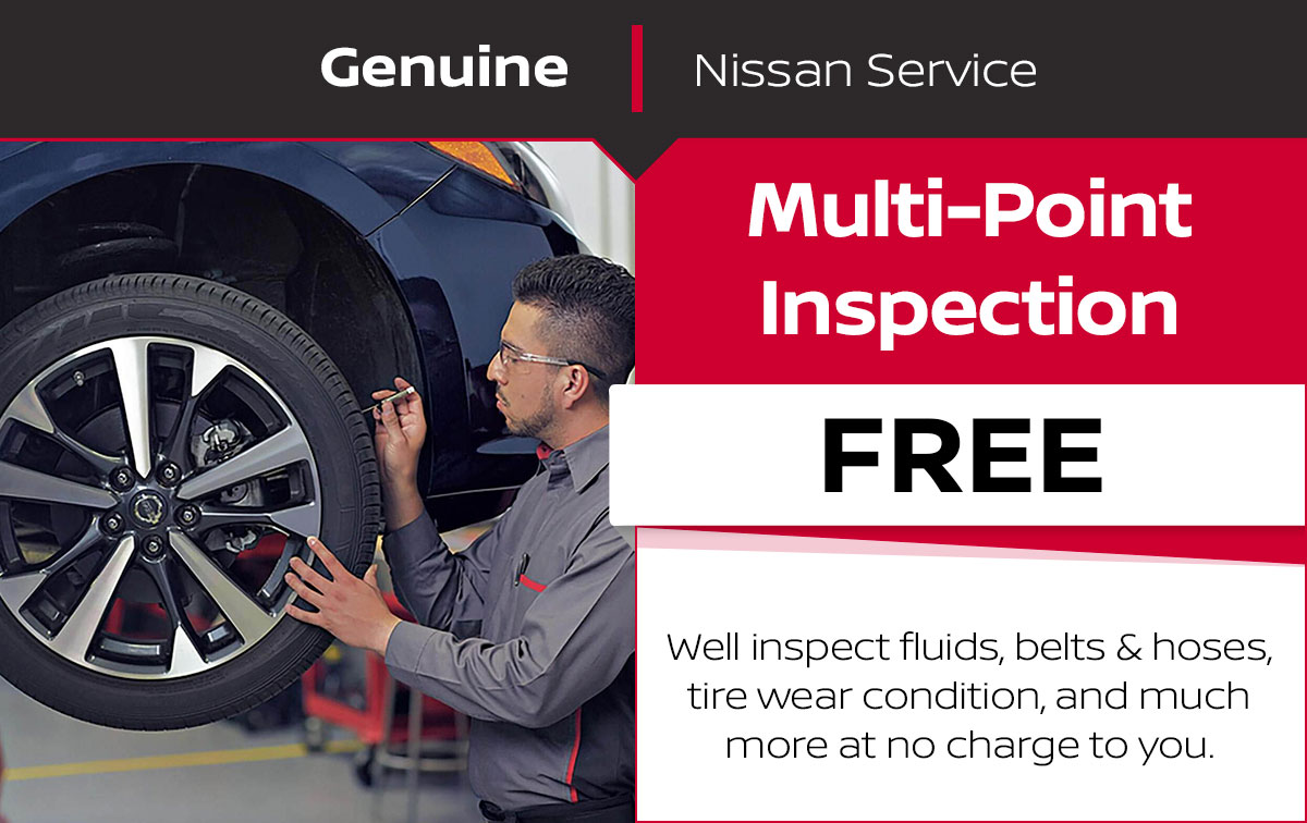 Nissan Multi-Point Inspection Service Special Coupon