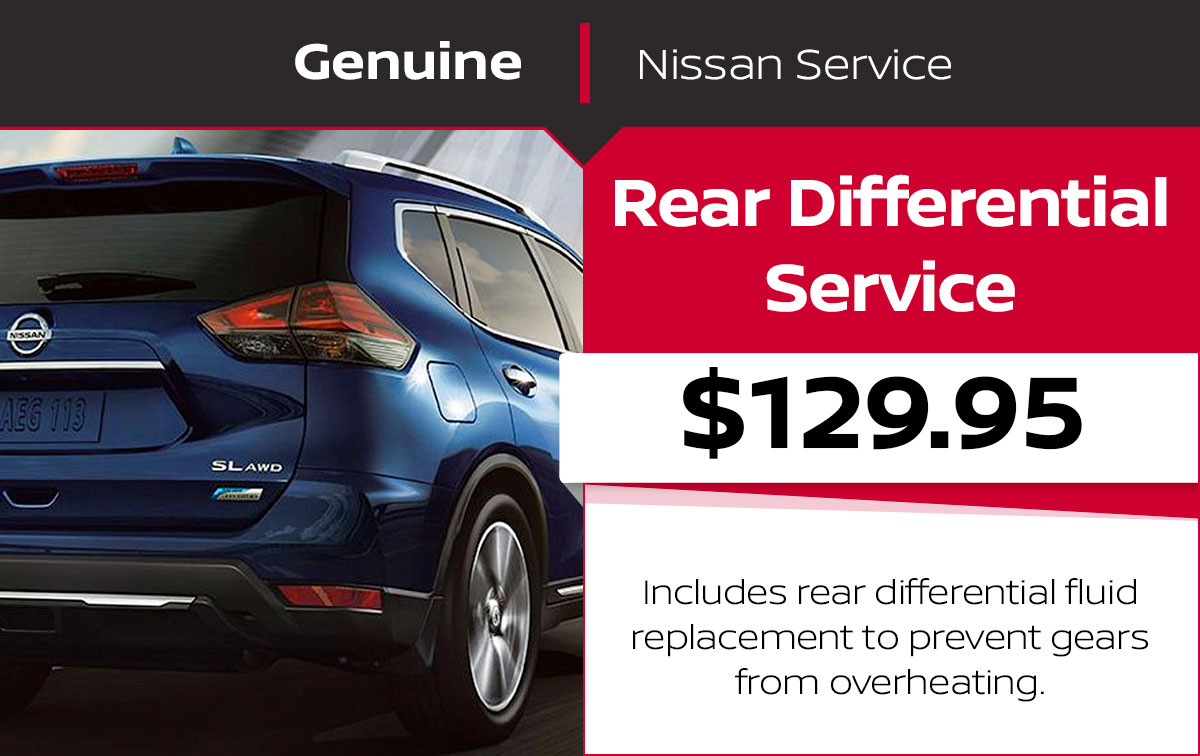 Nissan Rear Differential Service Special Coupon