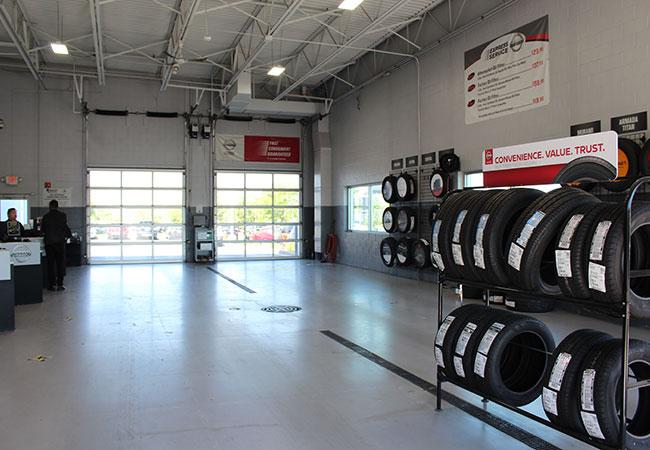 Russ Darrow Nissan of Milwaukee Tire Center