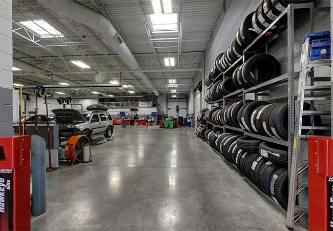 Stephen Wade Nissan Tire Center