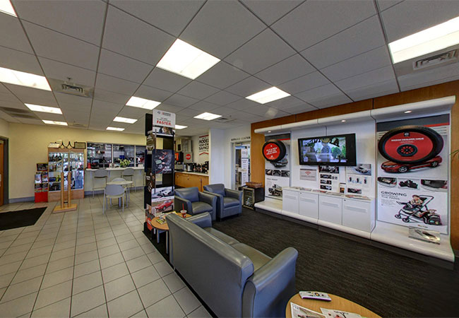 Stephen Wade Nissan Waiting Room