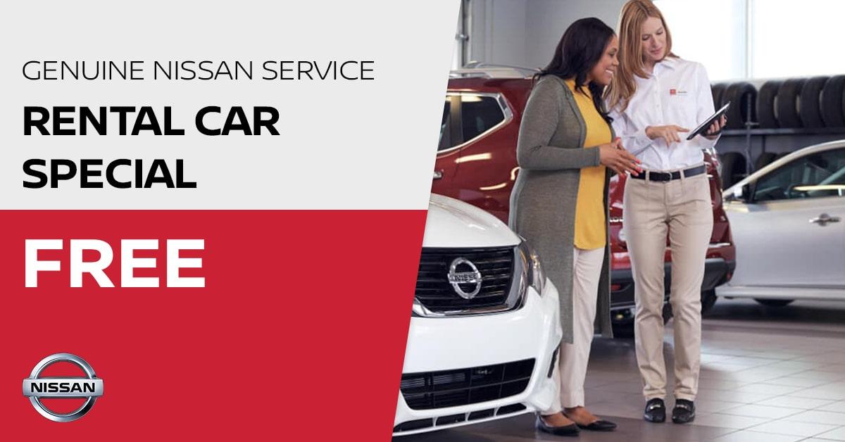 Nissan Rental Car Special Coupon