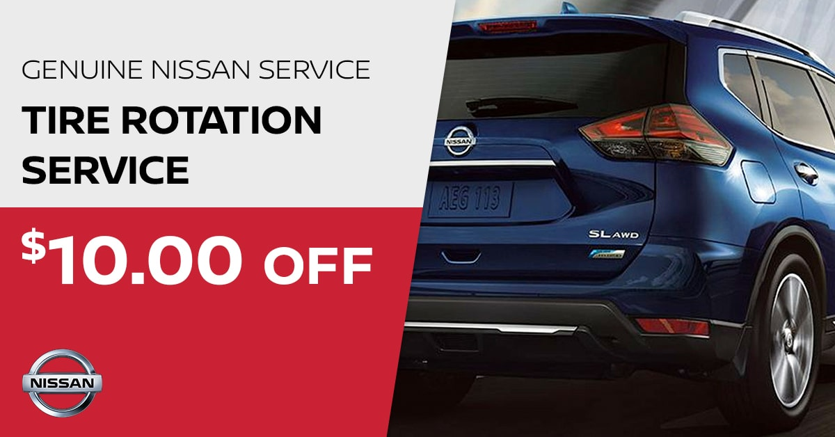Tire rotation service Coupon