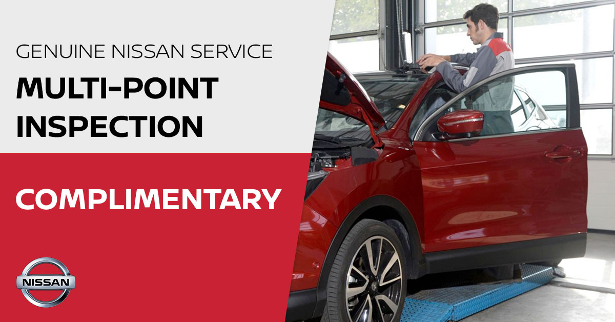 Nissan Multi-Point Inspection Special Coupon