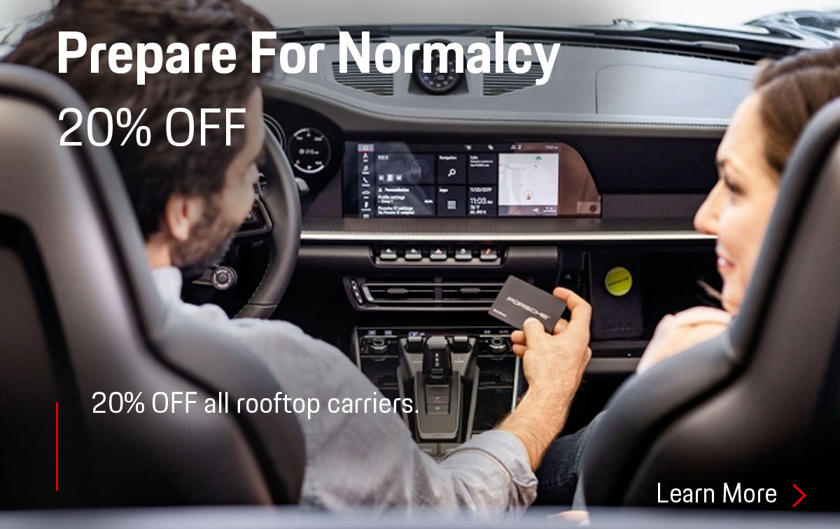 Porsche Prepare For Normalcy Special Coupon